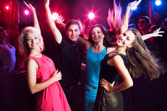 Young people at party. royalty free stock image