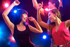 Young people at party. Royalty Free Stock Photo