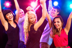 Young people at party. Royalty Free Stock Images
