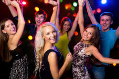 Young people at party. Stock Photography