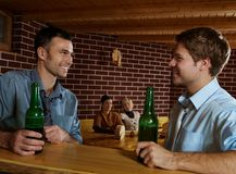 Young people in pub Stock Images