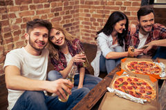 Young people resting Royalty Free Stock Image