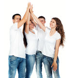 Young people smiling Royalty Free Stock Images