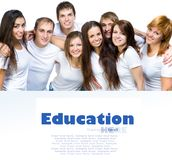 Young people smiling Stock Photography