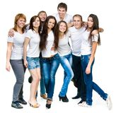 Young people smiling Stock Photo