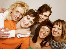 Young people smiling stock photos