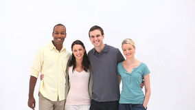 Young people standing together Royalty Free Stock Images
