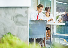 Young people working together Royalty Free Stock Images