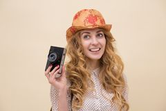 Young personal photographer Stock Image