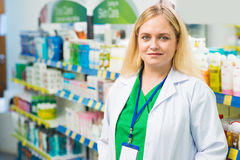 Young pharmacist Royalty Free Stock Images