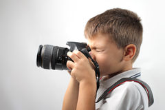 Young photograph Stock Image