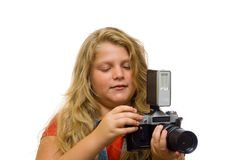 Young Photographer Royalty Free Stock Photos