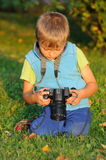 Young photographer Stock Photos