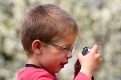 Young photographer Royalty Free Stock Photography