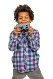 Young photographer. Royalty Free Stock Photo