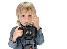 Young photography Royalty Free Stock Image