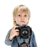 Young photography Royalty Free Stock Photography
