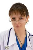 Young physician royalty free stock photo