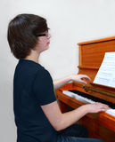 Young pianist Royalty Free Stock Photo