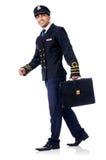 Young pilot Stock Image