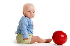 Young player Royalty Free Stock Photography