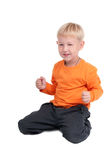 Young Playful Boy Stock Images