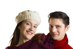 Young playful couple Stock Photography