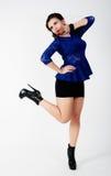 Young playful woman Stock Photos