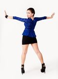 Young playful woman Stock Image