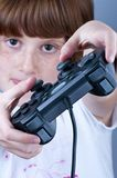 Young playing games Royalty Free Stock Photos