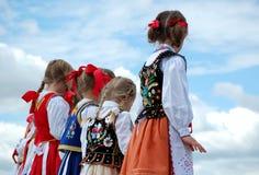 Young Polish Dancers Stock Image