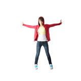 Young pop dancer Royalty Free Stock Photos