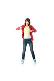 Young pop dancer Stock Image