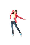 Young pop dancer Royalty Free Stock Photography
