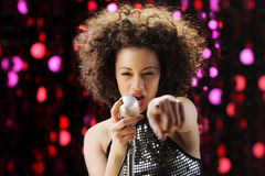 Young Pop star Royalty Free Stock Images