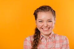 Young positive teenager girl Royalty Free Stock Image