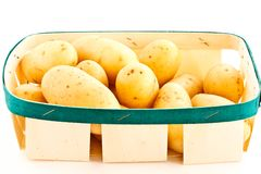 Young  potatoes Royalty Free Stock Photography