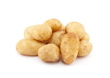 Young potatoes Stock Photos