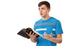Young preacher Royalty Free Stock Images