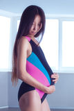 Young pregnant asian woman Royalty Free Stock Photography
