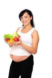 Young Pregnant Woman Stock Photography