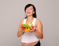 Young pregnant woman Royalty Free Stock Photos