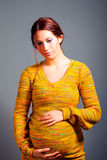 Young pregnant woman Royalty Free Stock Photo