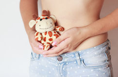 Young pregnant woman Stock Photos