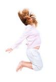 Young pregnant woman having fun Stock Image