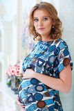 Young pregnant woman Stock Image