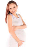 Young pregnant woman Royalty Free Stock Images