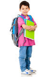Young preschool student Stock Photo