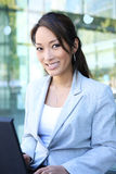 Young Pretty Asian Business Woman Royalty Free Stock Photography