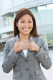 Young Pretty Asian Business Woman stock photography